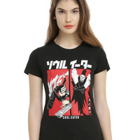 Soul Eater Death The Kid & Death Girls T-Shirt