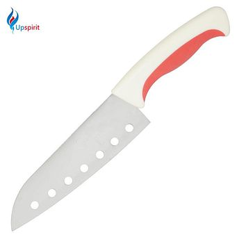 "New Hole Knife Kitchen Knives 6"" Home Kitchen Dining Bar Stainless Steel Utility Slicing Japanese Chef Knife Meat Cleaver Tools"