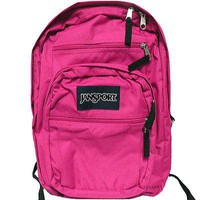 JanSport Classic BIG STUDENT BACKPACK - CYBER PINK