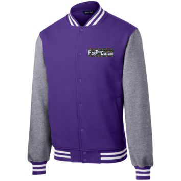 For The Culture Men's Letterman Jacket