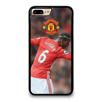 paul pogba dab manchester united iphone 4 4s 5 5s se 5c 6 6s 7 8 plus x case  number 1