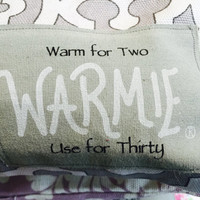 Warmie Heating Pad/2.5 lbs Cherry Pit or Rice Filled& Herb Filled Heating/Cooling Pad/Soapie Shoppe/ Haywood Mall