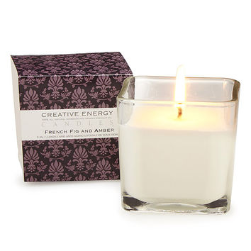 2 in 1 Body Lotion Candle | scented candle, solid moisturizer