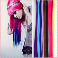 Long Solid Color Hair Extensions