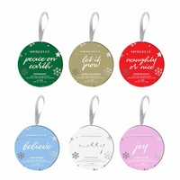 Holiday Ornament Buffers by Spongelle