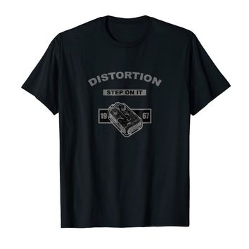 Distortion Guitar Pedal Tee Shirt