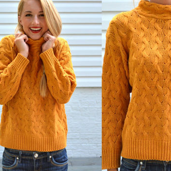 Best Mustard Yellow Sweater Products on Wanelo