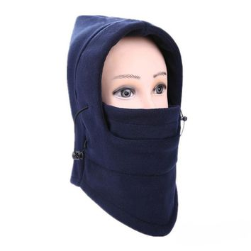 ISHOWTIENDA 6 in 1 Outdoor Ski Masks Bike Cyling Beanies Winter Wind Stopper Face Hats samurai mask #A40