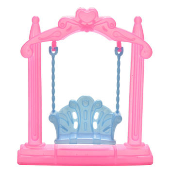 1 Pc Plastic Swing For Dolls Doll Accessories Kids Toys Birthday Children's Day Christmas Gifts New Arrival