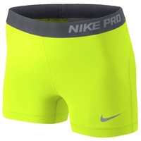 "Nike Pro 3"" Compression Shorts - Women's at Champs Sports"