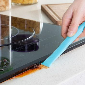 Multifunctional Cleaning Blade Kitchen Gas Stove Decontamination Decontamination Scraping Can Opener
