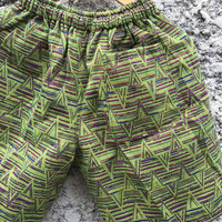 Unique Aztec Ethnic Woven Shorts Hippie Gift Men Tribal Southwestern Boho festival Bohemian Style Summer Clothing Burning man Coachella