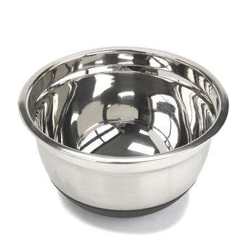 3 qt. Stainless Steel Mixing Bowl - CASE OF 6