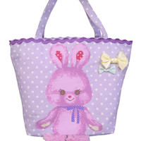 Outing lunch tote rabbit - ONLINE SHOP - SWIMMER