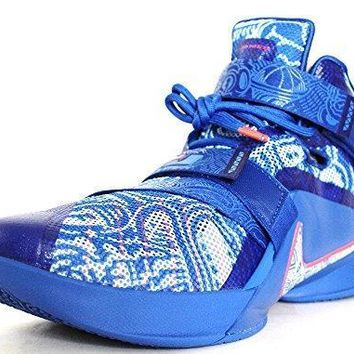 Nike Mens Zoom Lebron Soldier IX LE Limited Edition Basketball Shoes (11, Game Royal/W