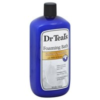Dr. Teal's 34 oz. Soften & Nourish Foaming Bath with Milk & Honey