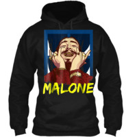 Vintage Rapper Post Leave Me Malone  - Malone Costume Pullover Hoodie 8 oz