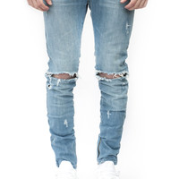 ESSENTIAL DENIM AGED BLUE DISTRESSED | Wings Of Liberty
