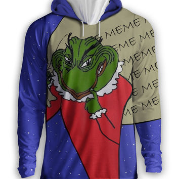 Pepe the Grinch Hoodie