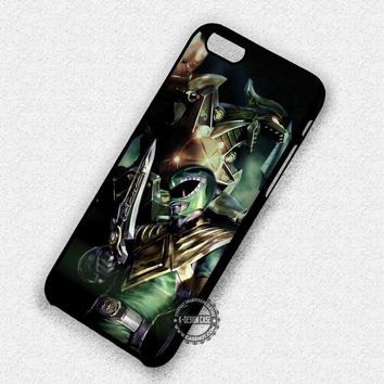 Green Power Rangers - iPhone 7 6 Plus 5c 5s SE Cases & Covers