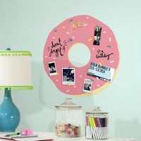 Sprinkles Doughnut Peel & Stick Giant Wall Decal (Pink)