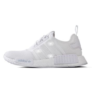Adidas NMD-R1 Primeknit+ Crystals - White