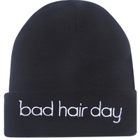 Bad Hair Day Beanie | Wet Seal