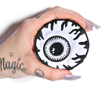 Mishka Monochrome Keep Watch Patch White One