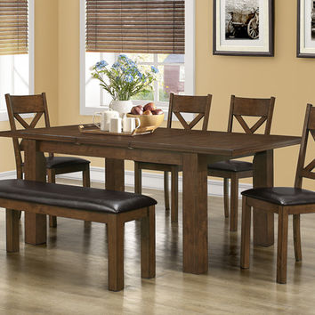 "Walnut 42""X 60""X 78"" Dining Table"