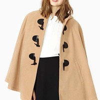 Nasty Gal English Nights Cape