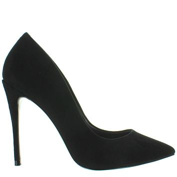Steve Madden Daisie - Black Suede Stiletto Pump