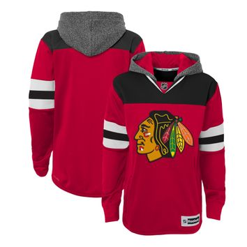 Youth Chicago Blackhawks Faceoff Jersey Hoodie By Reebok