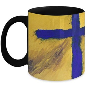 "BUY ""Blue Falcon"" Coffee Mug by Rossouw. Love Heals All. Inspire."