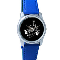 Smiling Airplane Wrist Watch