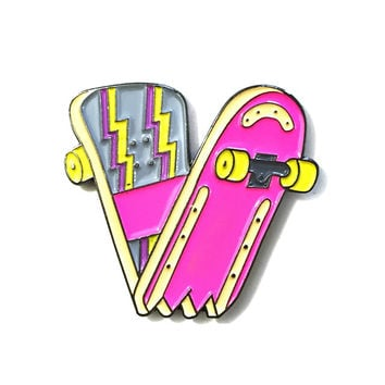 Snapped Skate Deck Pin