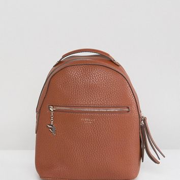 Fiorelli Anouk Mini Backpack in Tan at asos.com