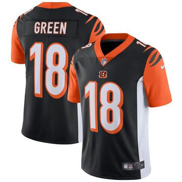 Men's Cincinnati Bengals A.J. Green Nike Black Vapor Untouchable Limited Player Jersey