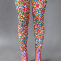 Sprinkles Leggings by PrettySnake on Etsy