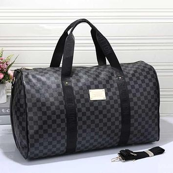 Louis Vuitton LV Woman Men Travel Bag Leather Tote Handbag Shoulder Bag