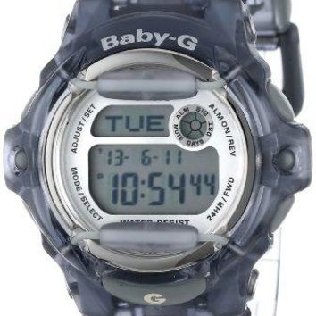 "Casio Women's BG169R-8 ""Baby-G"" Gray Resin Sport Watch"