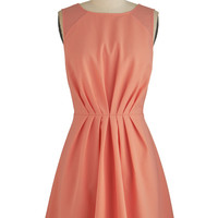ModCloth Mid-length Sleeveless A-line Bright Day Ahead Dress