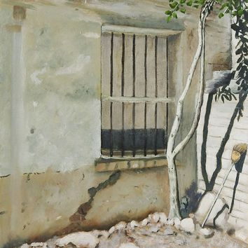 Old House in Nuevo Laredo Painting