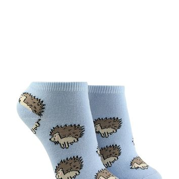 Hedgehog Print Ankle Socks