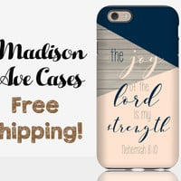 The Joy Of The Lord Is My Strength Nehemiah 8:10 Phone Case