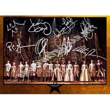 Hamilton The Musical - Signed Photos