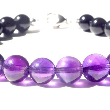 Mens INTUITION & TRASFORMATION Chakra Bracelet