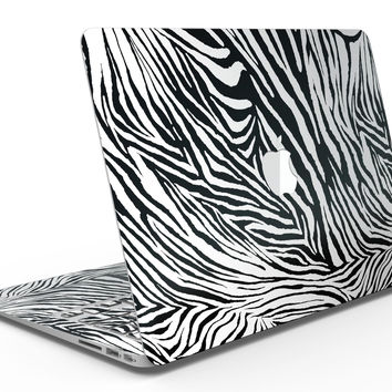 Toned Zebra Print - MacBook Air Skin Kit