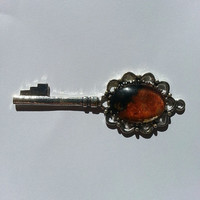 Purification Protection Luck Silver Key Pendant