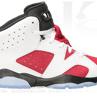 Air Jordan Pre School 6 VI PS Carmine