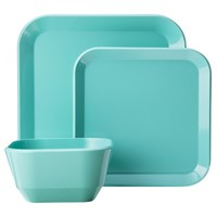 Room Essentials® 12 Piece Square Dinnerware Set